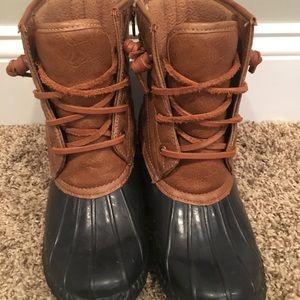 Steve Madden Rain Boots 6.5
